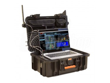 Delta X 2000/6 anti surveillance system for detection of wiretaps, hidden cameras, as well as mobile phones