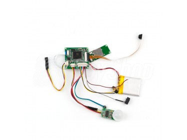 Motion activated spy camera PIR - HD-08 with long operation time and simple installation