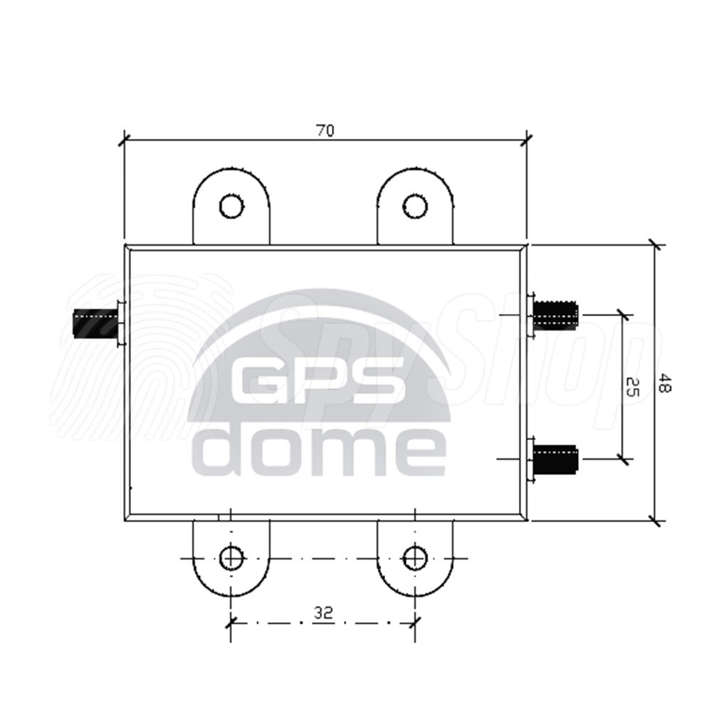 GPSdome GPS anti jammer - effective protection against jamming