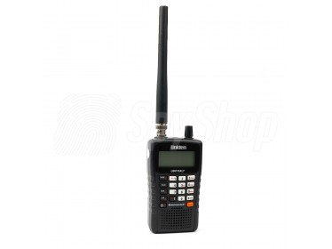 UBC75XLT Uniden radio frequency scanner for beginners
