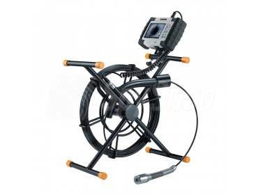 Endoscopic camera with 30 m cable and sturdy probe LevelFlex