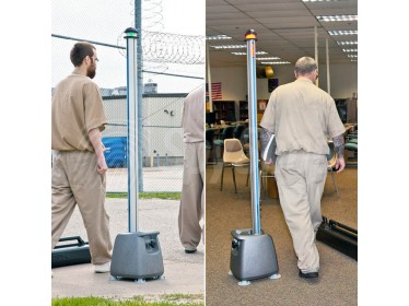 Mobile phones and metal detector Cellsense for prisons