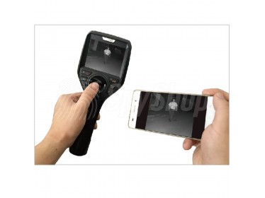 Snake camera M3-P for the police inspection with HD LCD screen and image transmission function
