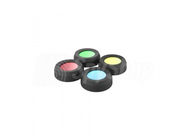 Torch filters for Ledlenser flashlights (36 mm) Colourful torch filters (36 mm) from Ledlenser