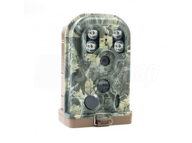 Outdoor wildlife camera Ereagle E1B with 3 motion sensors and IR illuminator with 30 m range