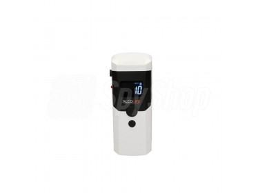 Mobile breathalyzer AlcoLife F3 with passive measurement and electrochemical sensor