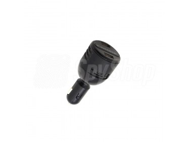 Car charger hidden camera Lawmate PV-CG10 with full HD resolution and sensitive matrix for discreet recording