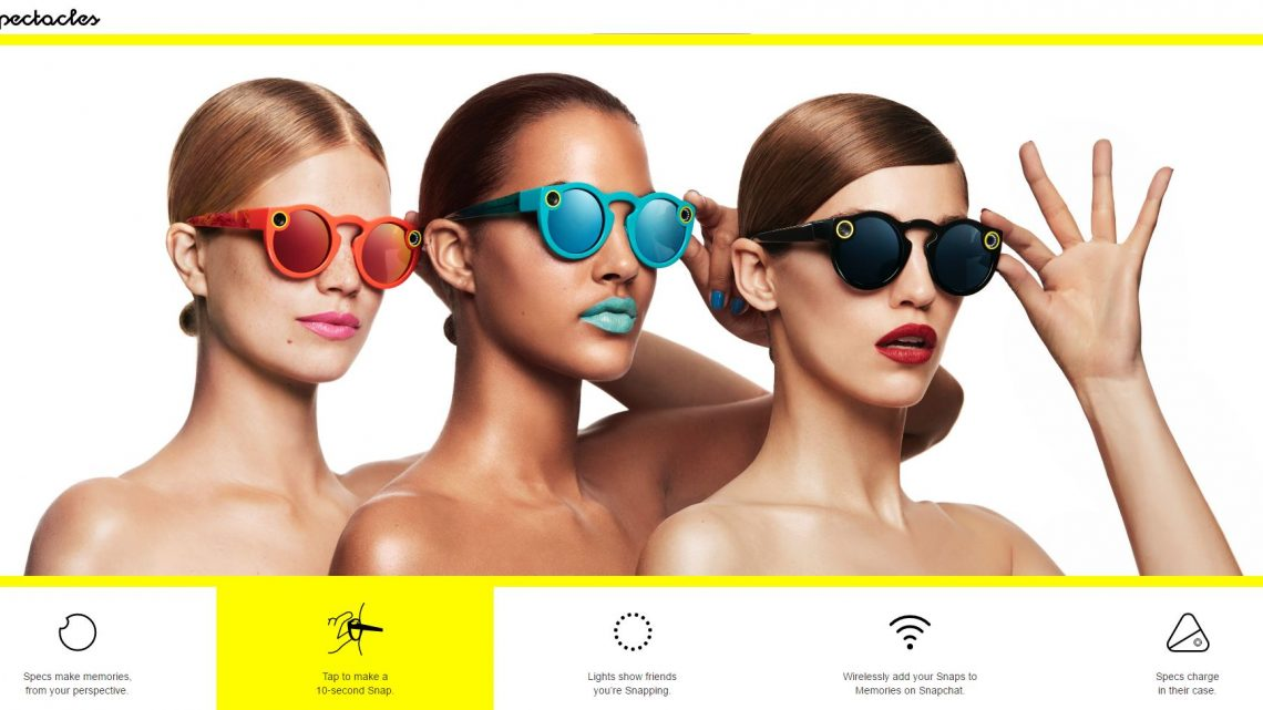 Intelligent gadgets on your nose – predecessors of Snapchat Spectacles
