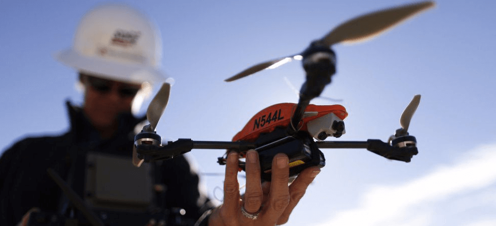 Top 10 professions for flying drones