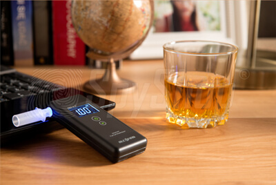 Home breath tester Alcofind-PRO-X5