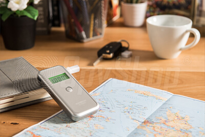 Pocket breathalyzer al-7000