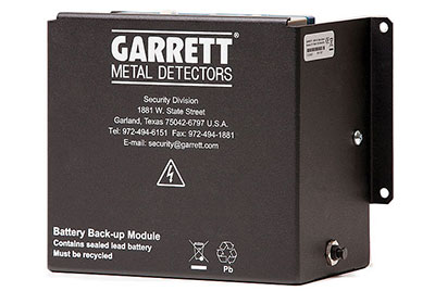 Garrett PD 6500i - additional power supply