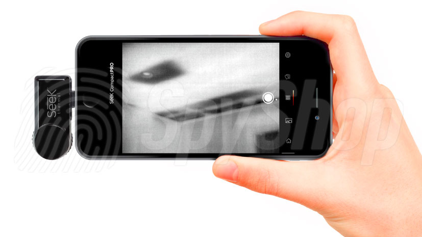 Thermal camera for the smartphone