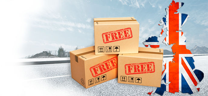 Get free delivery!